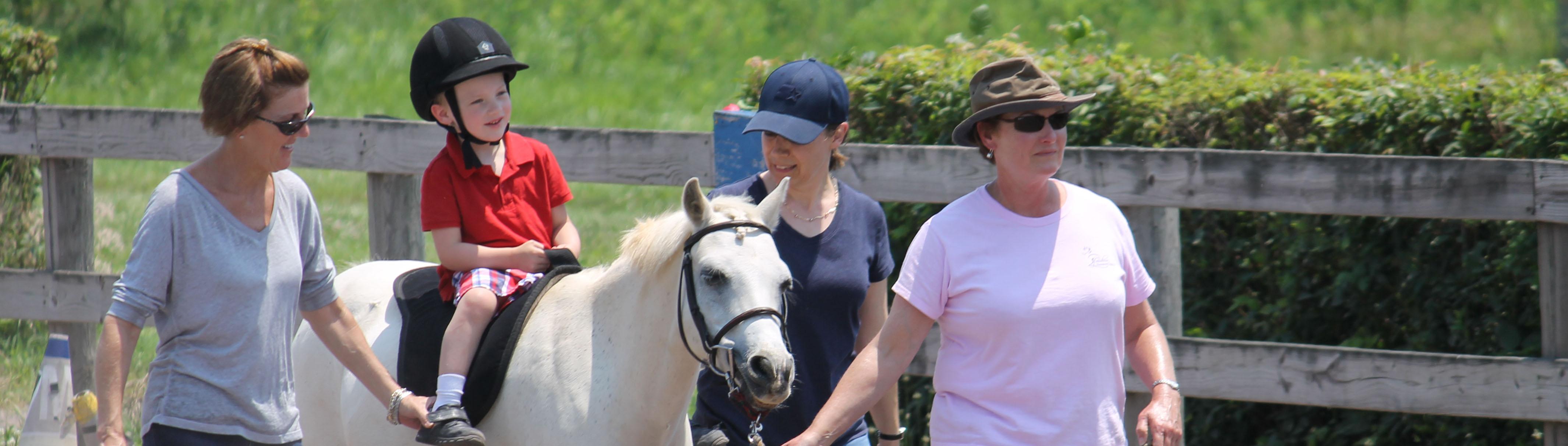 Hippotherapy - Loudoun Therapeutic Riding